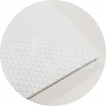 Подошва для тапочек (30*25,5 см) белая