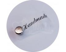 Бирка съемная силиконовая (Handmade)