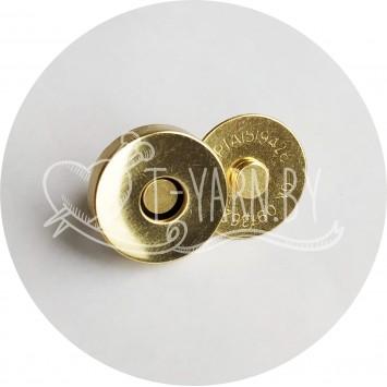 Кнопка магнитная (Золото)