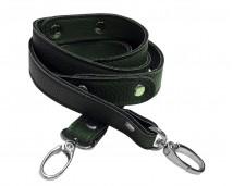 Ручка для сумки 120 см., эко-кожа (темно-зеленый)