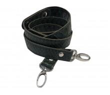 Ручка для сумки 120 см., эко-кожа (Зеленый питон)