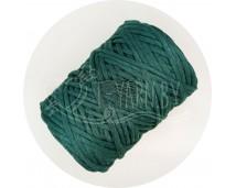 Хлопковый шпагат для макраме (4 мм, 100 м.) изумруд