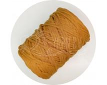 Хлопковый шпагат для макраме (4 мм, 100 м.) горчица