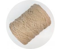 Хлопковый шпагат для макраме (4 мм, 100 м.) латте