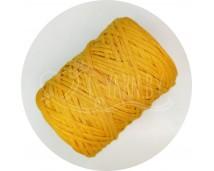 Хлопковый шпагат для макраме (4 мм, 100 м.) шафран